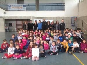 Pierluigi Di Marcello in visita alla Scuola di Canzano