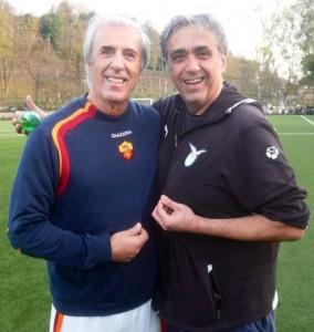 Alberto Mandolesi e Guido De Angelis