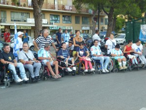 Disabili allo stadio