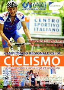 Locandina Ciclismo Abruzzo