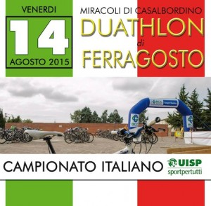 Locandina Campionato Italiano Duathlon Uisp Casalbordino 2015