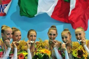 Le ginnaste italiane