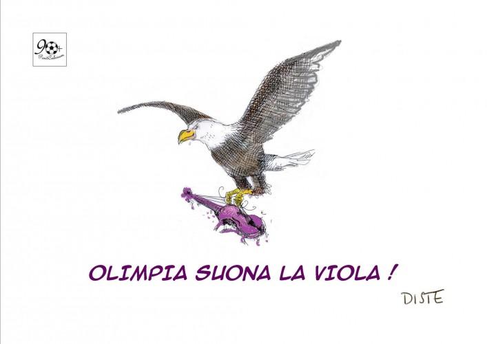 Olimpia suona la viola