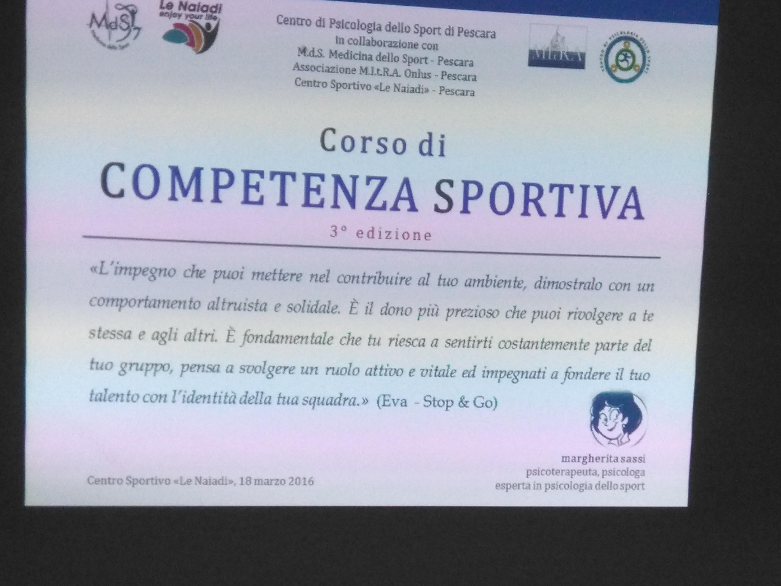 Corso competenza sportiva4