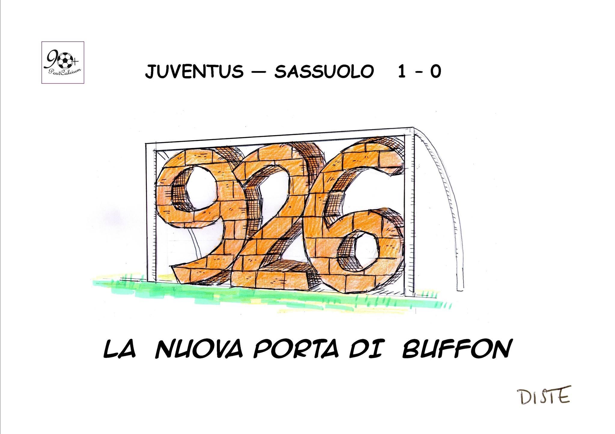 La nuova porta di Buffon