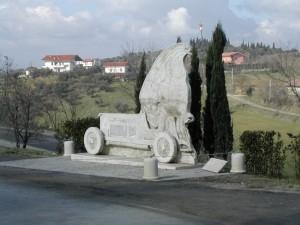monumento Coppa Acerbo tra Cappelle sul Tavo e Spoltore