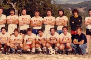 Mario Mazzocca e il calcio agosto 1978