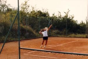 Mario Mazzocca e il tennis agosto 1979