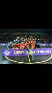 La vittoria in Coppa