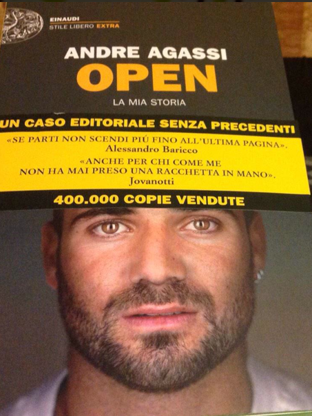 """Andre Agassi """"Open"""""""