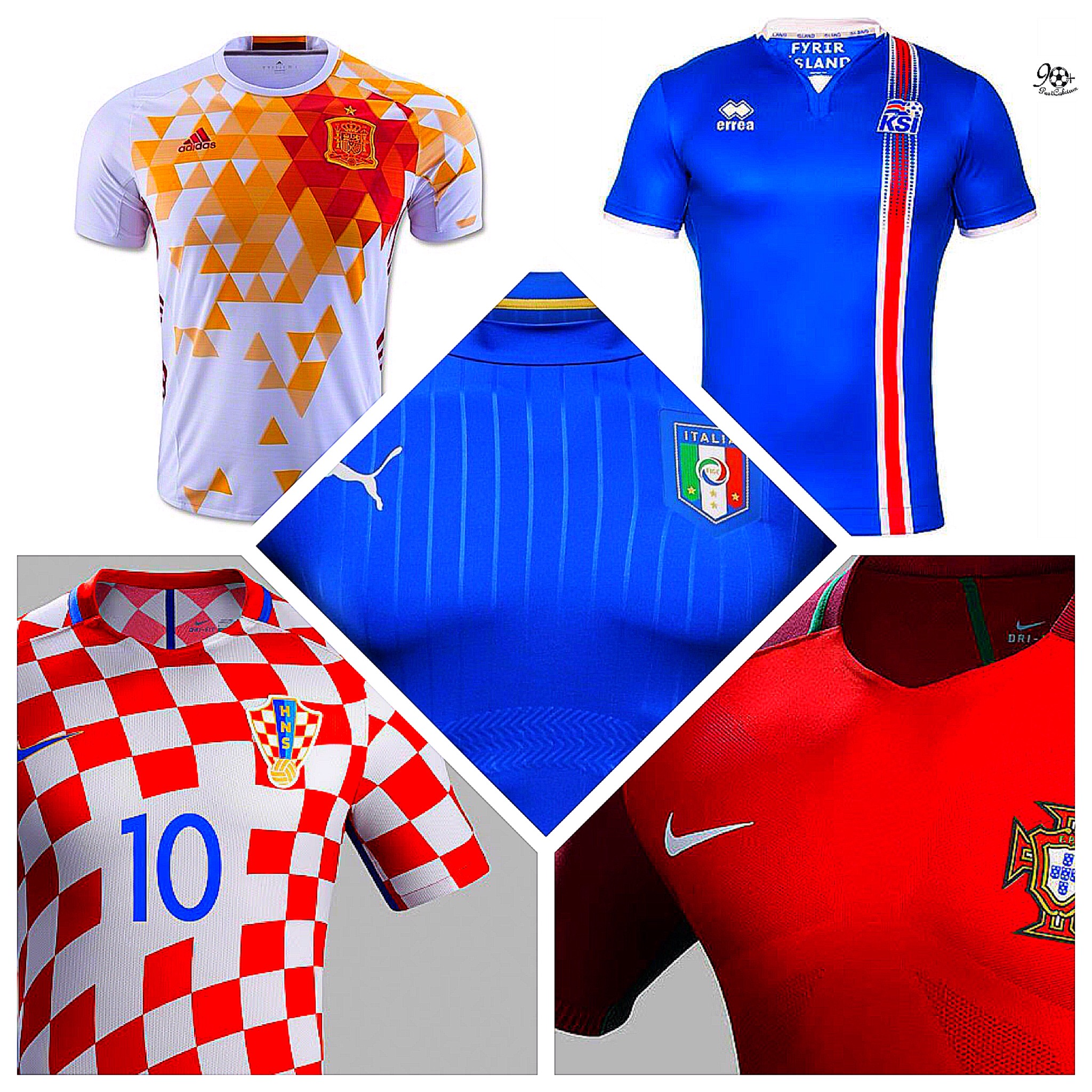 Maglie Euro 2016