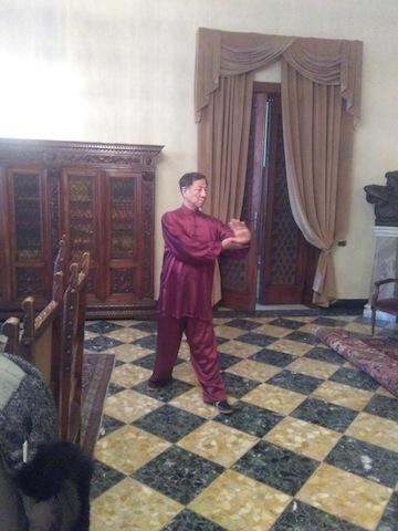 Arti marziali cinesi maestro Guan Tieyun