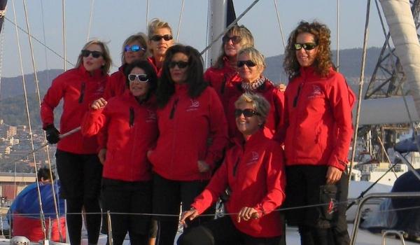 femme fatales sailing