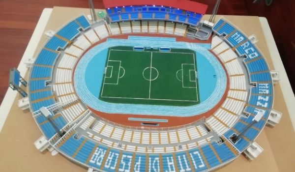 stadio Adriatico in miniatura